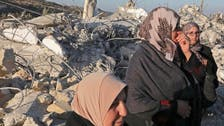Israel demolishes homes of 4 suspected Palestinian attackers