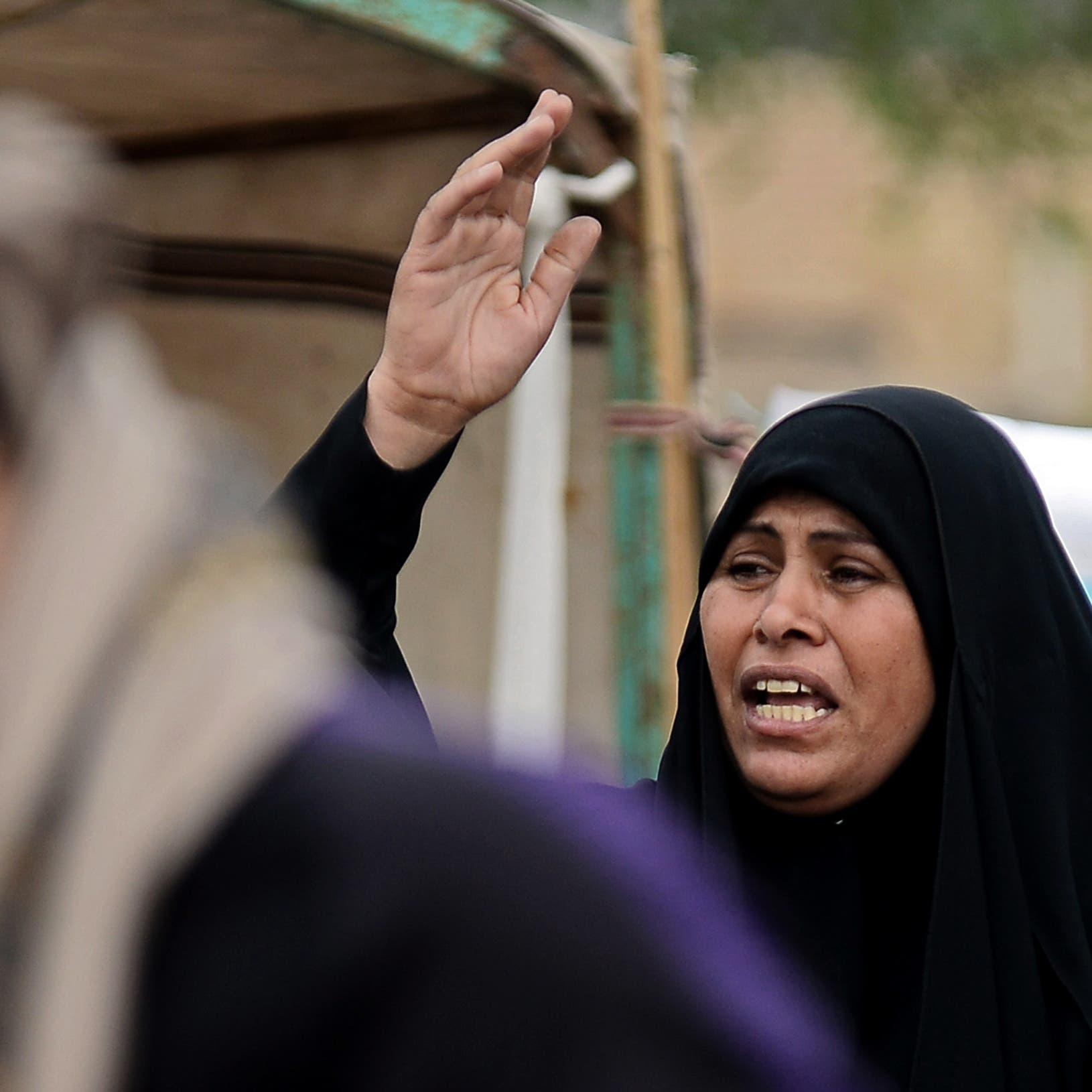 أم عراقية تصرخ مفجوعة فوق جثة ولدها: ارجع يا يمه