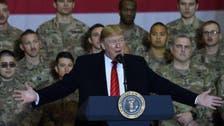 طالبان امن معاہدے کے خواہش مند ہیں : ٹرمپ کا افغانستان میں خطاب