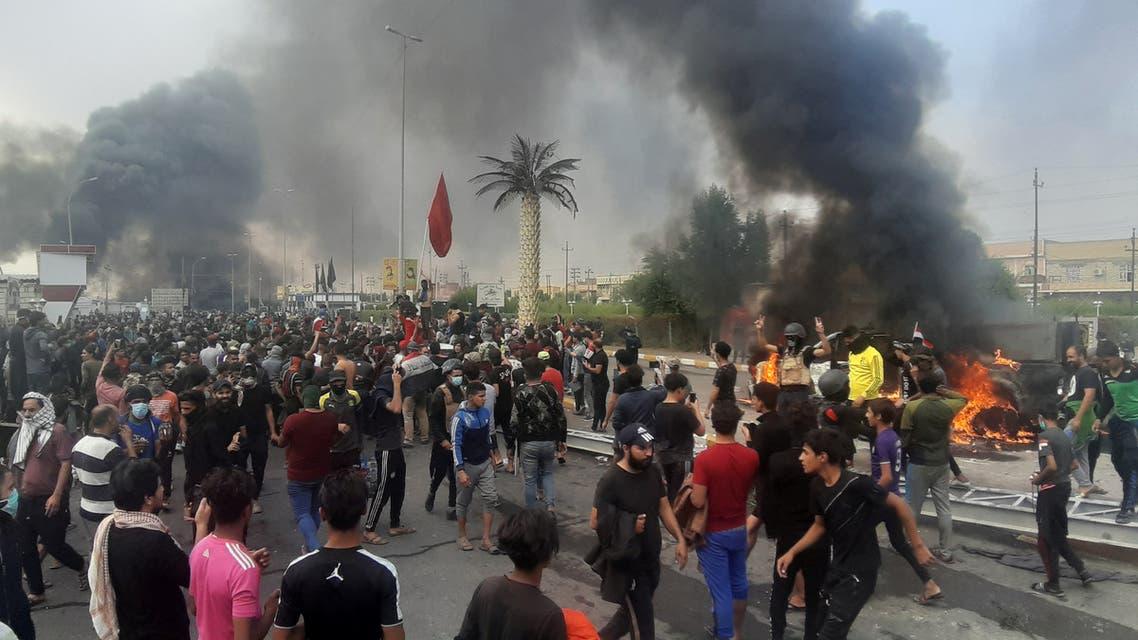 مظاهرات الناصرية 29 نوفمبر رويترز