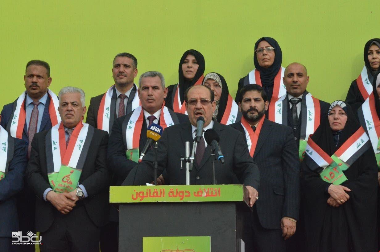 ائتلاف دولة القانون برئاسة نور المالكي