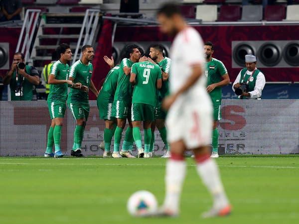 منتخب العراق يهزم الإمارات بهدفين في خليجي 24