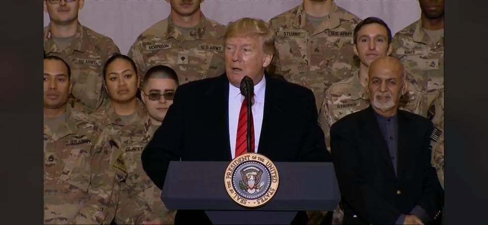 ترامپ در افغانستان