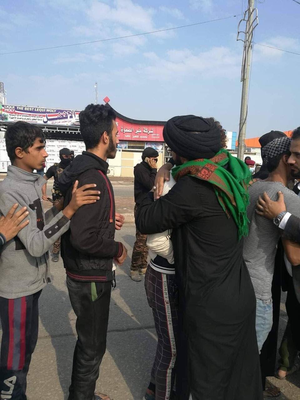 إطلاق سراح عدد من الموقوفين في الناصرية