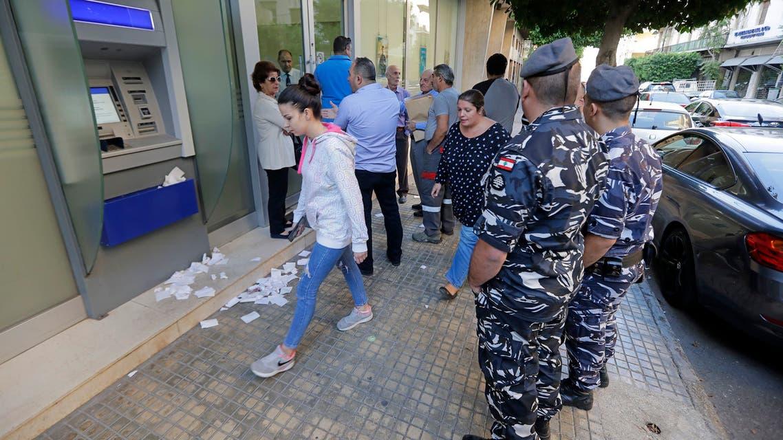 مصارف لبنانية(فرانس برس)