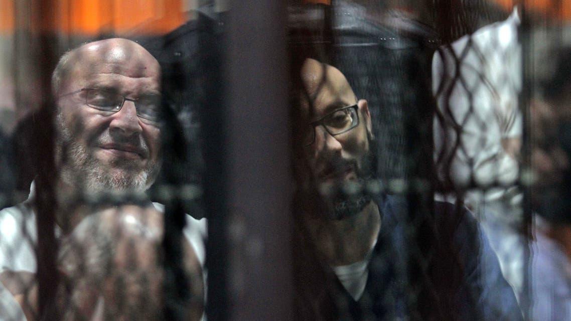 من محاكمات أعضاء في الإخوان بمصر (أرشيفية- فرانس برس)