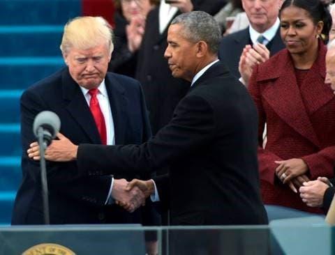 ترمب وباراك أوباما