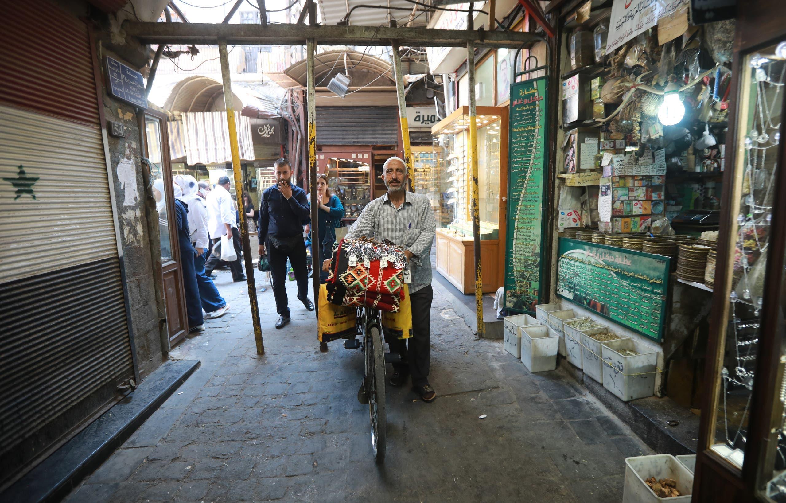 من سوق البذورية في دمشق(فرانس بر)