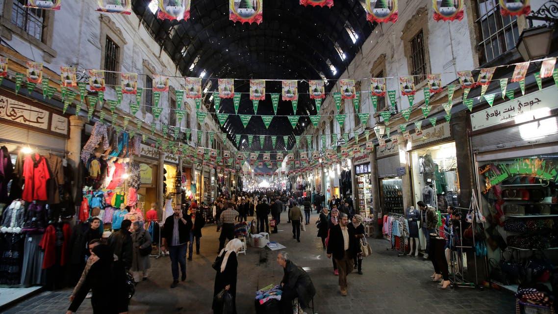 سوق الحميدية في سوريا n