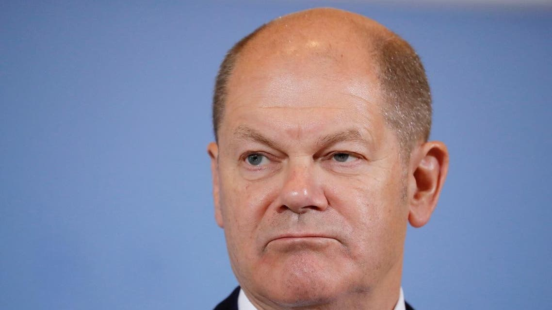 German Finance Minister Olaf Scholz holds a news conference on tax revenues in Berlin, Germany. (File photo: Reuters)