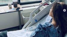 ورم في الوجه.. نيللي كريم تكشف عن حالتها الصحية