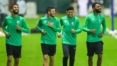 المنتخب السعودي يختتم استعداداته لمواجهة عمان