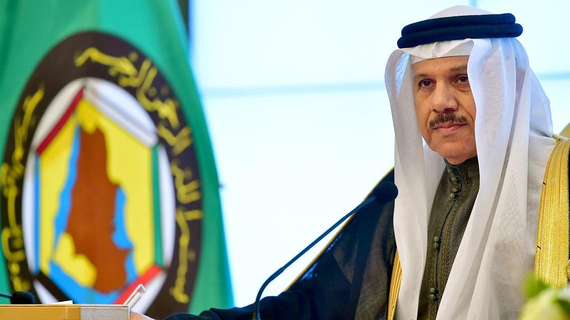 General Secretary of the Gulf Cooperation Council (GCC) Abdullatif bin Rashid al-Zayani attends a press conference at the end of the GCC summit at the Bayan palace in Kuwait City on December 5, 2017. (File photo: AFP)