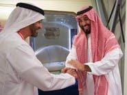 الأمير محمد بن سلمان يغادر الإمارات