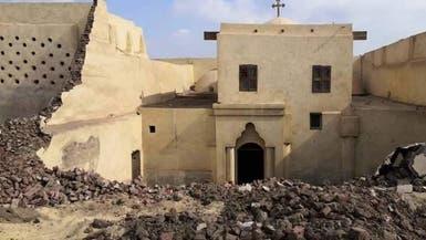 مصر.. 3 قتلى في انهيار سور بدير للأقباط بالمنيا