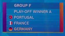 Germany, France, Portugal in same Euro 2020 group