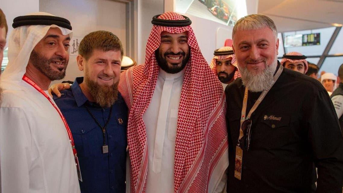 Saudi Crown Prince at Abu Dhabi Grand Prix December1, 2019. (SPA)