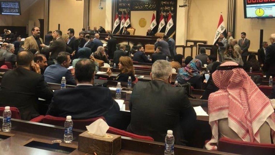 من جلسة البرلمان العراقي