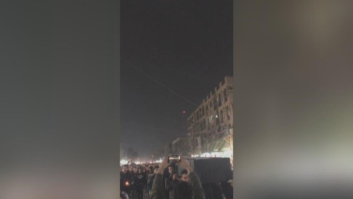 متظاهرون عراقيون: إيران برة برة بغداد تبقى حرة