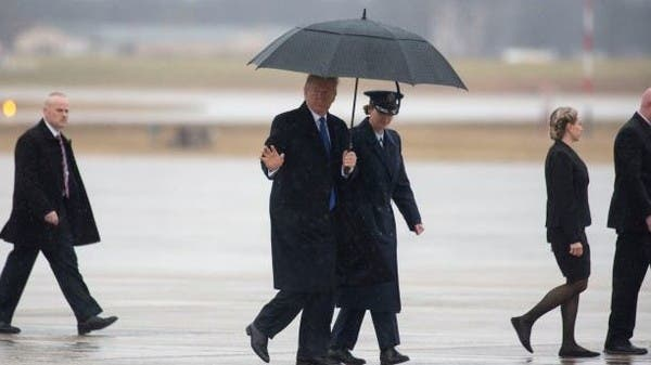 ترمب يشكو جلسة عزله قبيل توجهه إلى قمة الناتو