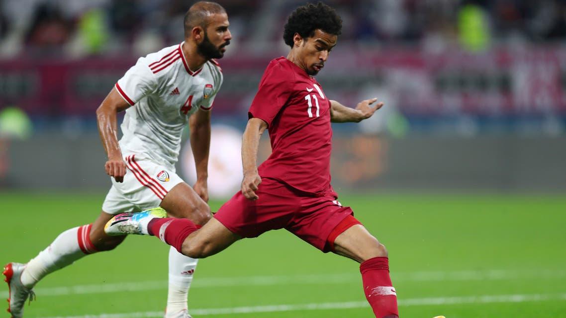 أكرم عفيف قطر الإمارات