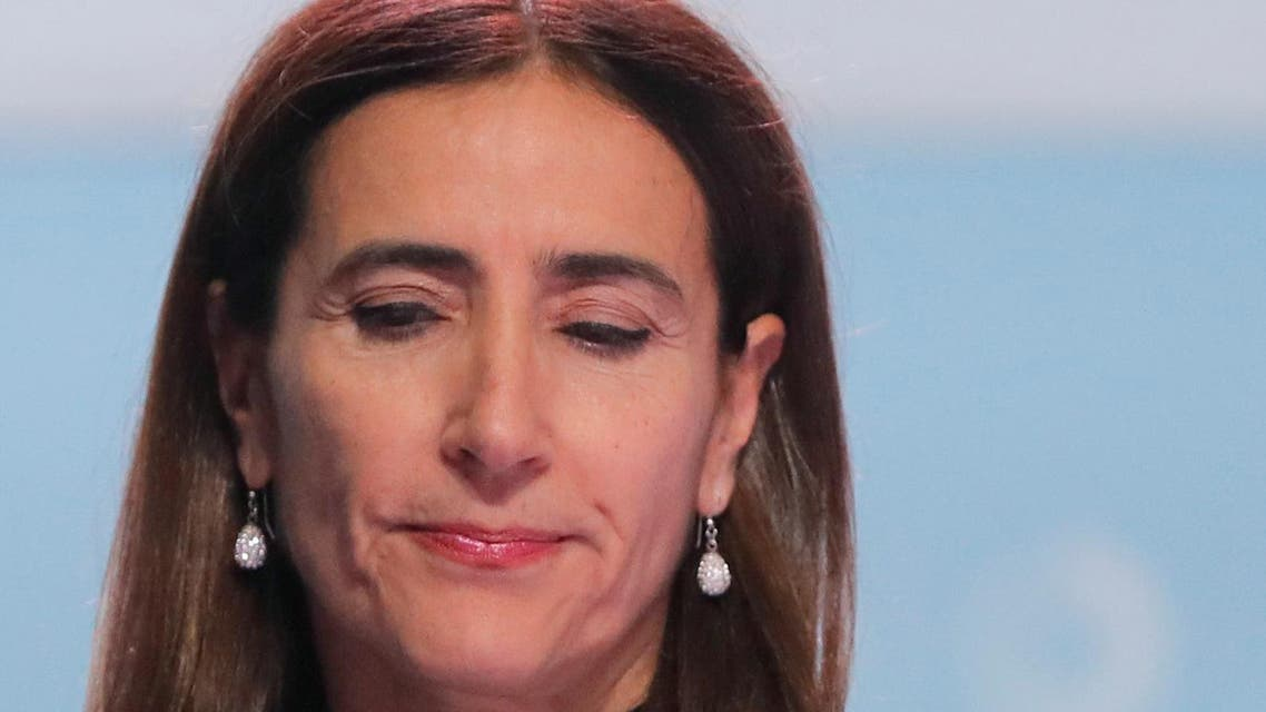 Carolina Schmidt, Chile's Minister of Environment and new president of the 2019 UN Climate Change conference (COP25), reacts during the opening ceremony of the COP25 in Madrid, Spain, December 2, 2019. REUTERS