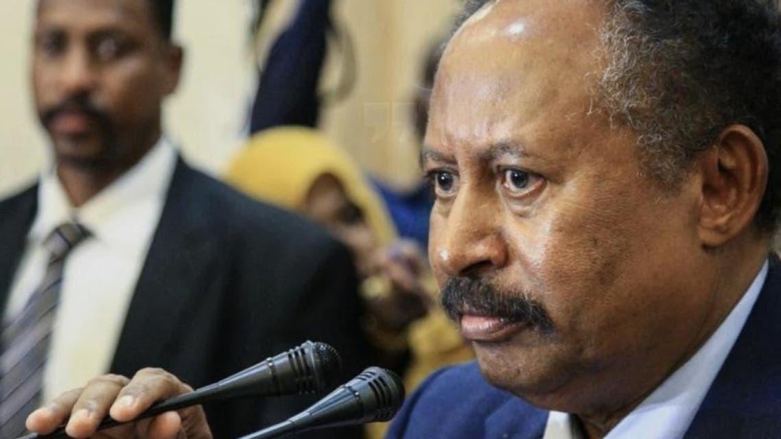 حمدوك: السودان قد يتحول لدولة فاشلة إذا استمرت عقوبات واشنطن