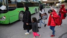 Hundreds of Syrian refugees in Lebanon return home