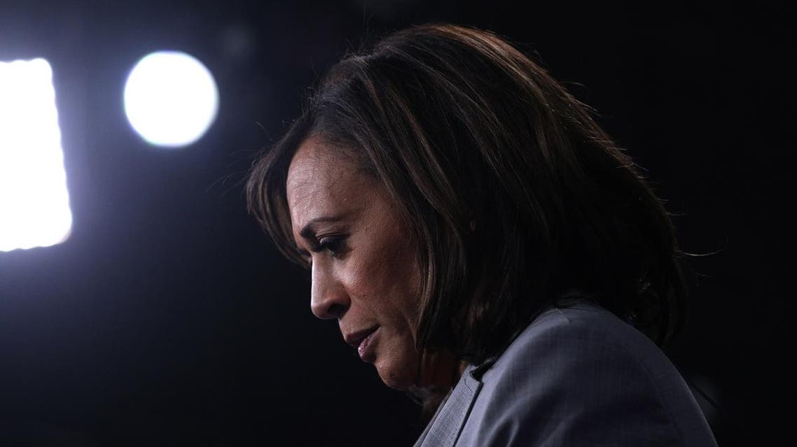 Senator Kamala Harris is interviewed in the spin room after the U.S. Democratic presidential candidates debate at the Tyler Perry Studios in Atlanta. (File photo: Reuters)