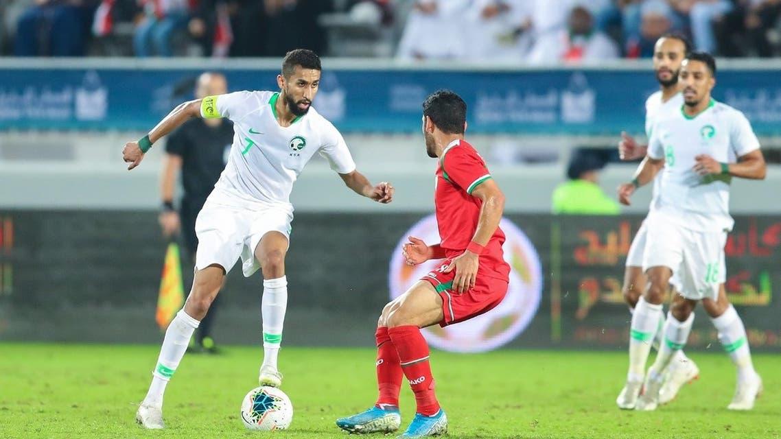 سلمان الفرج المنتخب السعودي عمان