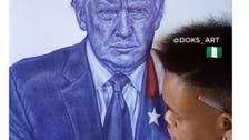 ترمب يغرد عن رسام نيجيري: أنت فنان رائع