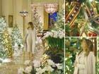 شاهد ميلانيا ترمب تكشف النقاب عن زينة الميلاد بالبيت الأبيض