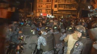 لبنان .. إصابة 5 في إشكال بين الجيش ومتظاهرين في صيدا