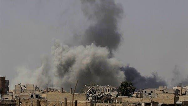 غارة مجهولة  تستهدف مخزن أسلحة للحرس الثوري في البوكمال