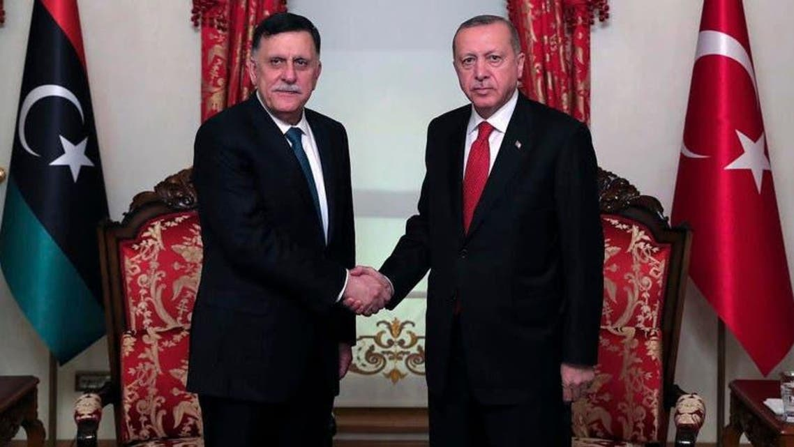 Libyan Prime Minister and Turkish President