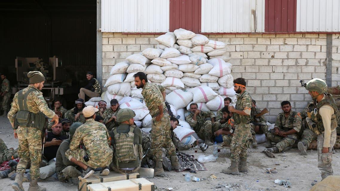 فصائل سورية مدعومة من أنقرة(فرانس برس)