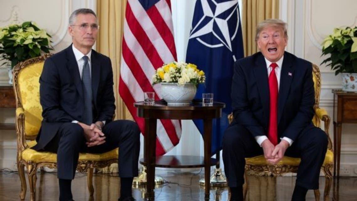ترمب مع أمين عام حلف الناتو