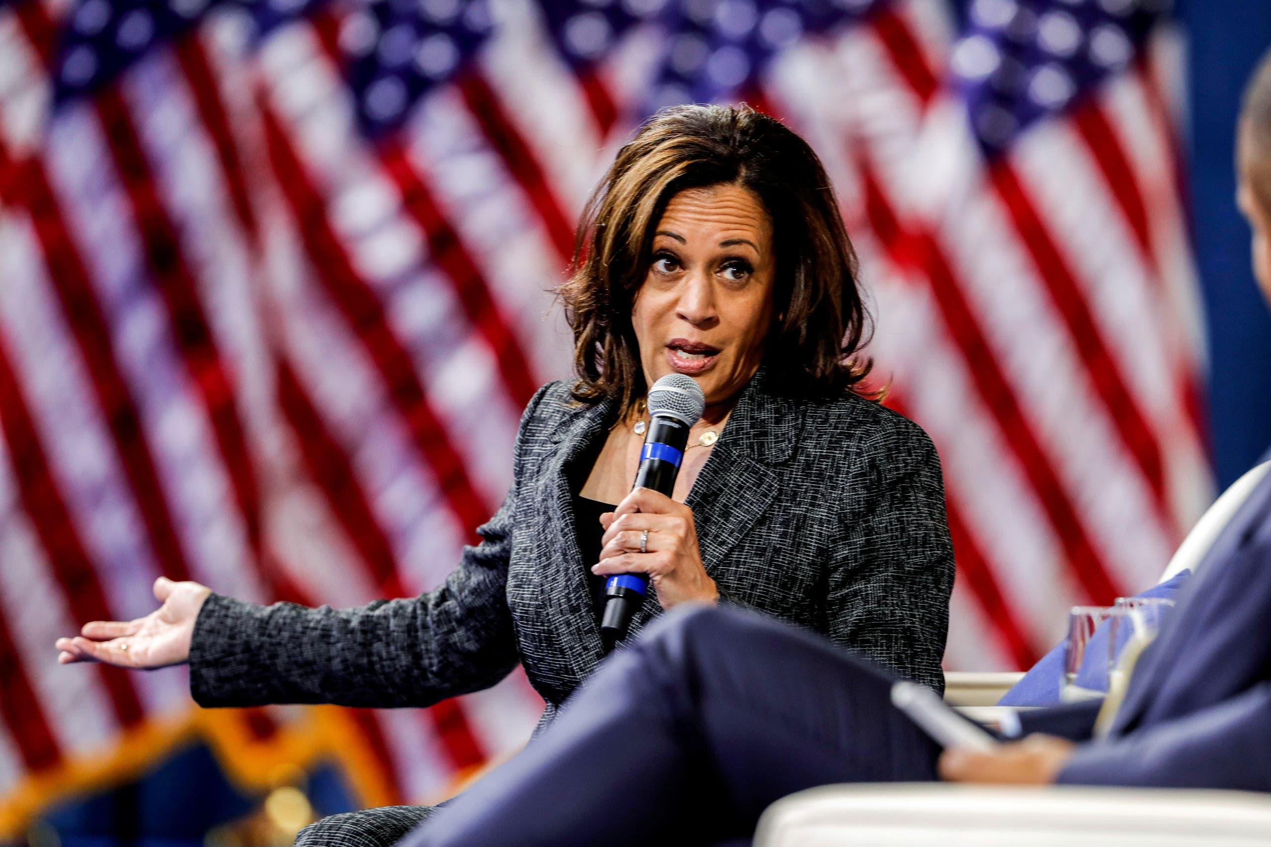 Senator Kamala Harris. (File photo: Reuters)