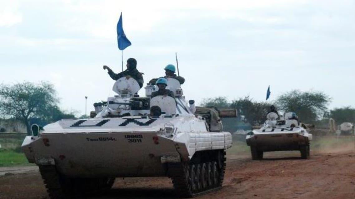 قوات حفظ السلام بالسودان