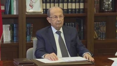 الرئيس اللبناني: نعاني من انكماش اقتصادي كبير
