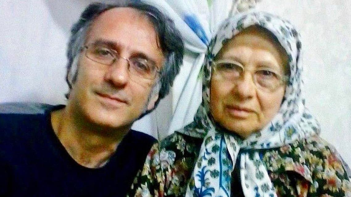 Ali Alinejad (left) has been in Evin prison in Tehran since September.. (Photo: Twitter)