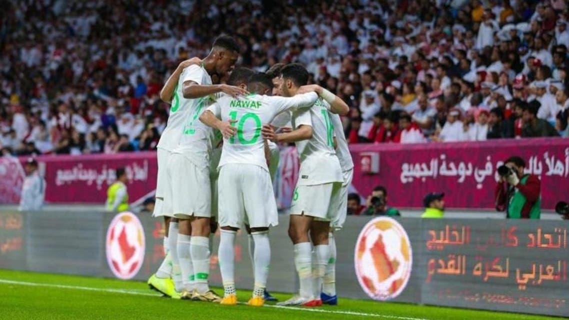 Saudi striker Abdullah al-Hamdan scored the only goal of the match in the 28th minute in the semi-final. (Supplied)