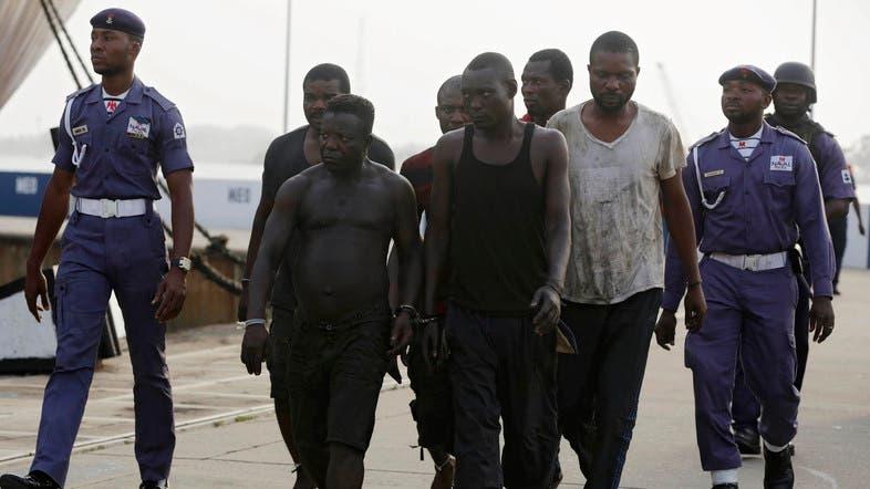 Image result for Pirates kidnap 19 crew members of Greek tanker off Nigeria