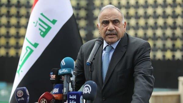 عبدالمهدي غاضب.. وإسبر: أطلعناه قبل الضربات بنصف ساعة