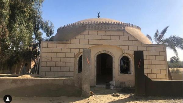 شهر على رحيله.. مسجد باسم هيثم أحمد زكي