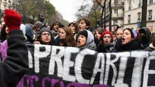 Paris police arrest scores amid strike over pension reform