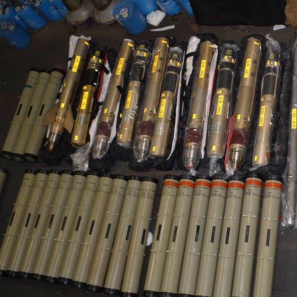 واشنطن تنشر صوراً لصواريخ إيران المصادرة قبل وصولها للحوثي