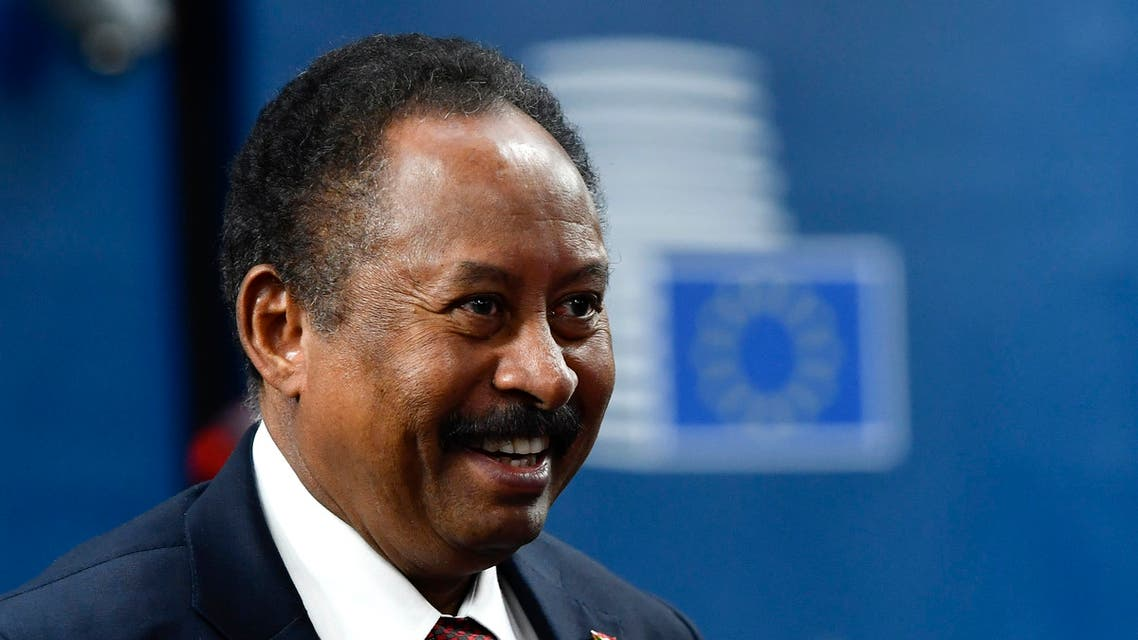 رئيس الحكومة السودانية الانتقالية عبدالله حمدوك