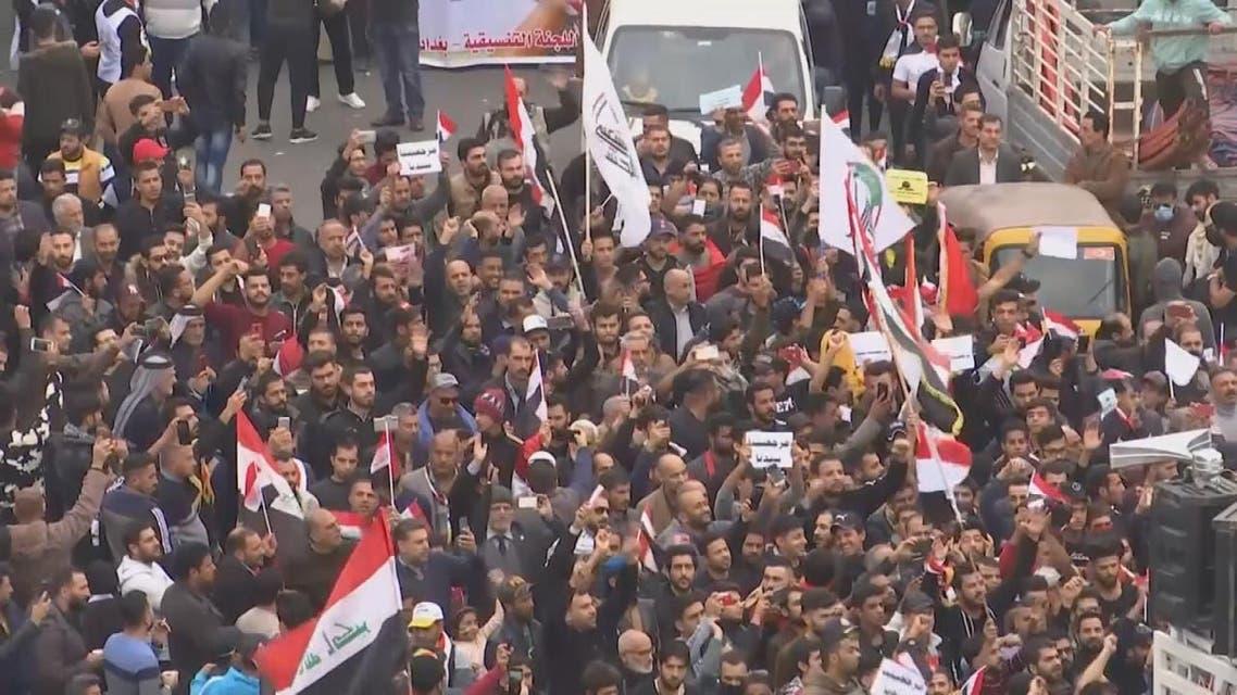 THUMBNAIL_ رعب في بغداد.. رصاصات قاتلة من سيارات مجهولة تستهدف المتظاهرين