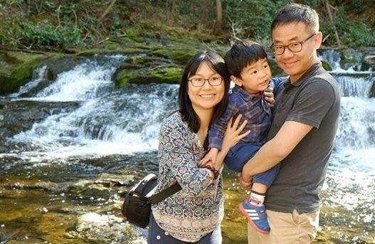 ژیو وانگ و خانوادهاش